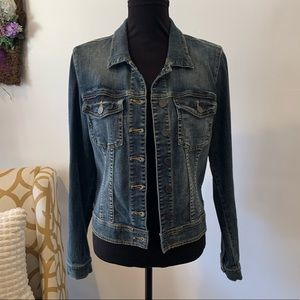 Kut From The Kloth Jean Jacket Size Large